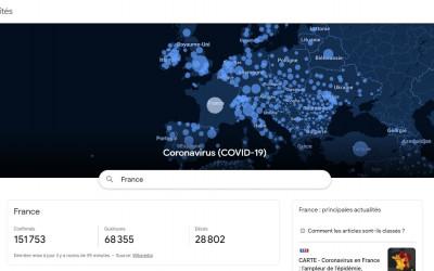 Le coronavirus continue de se propager à l'échelle mondiale !