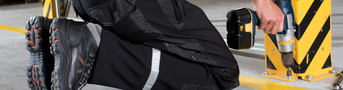 The protective pants, a must depending on the job