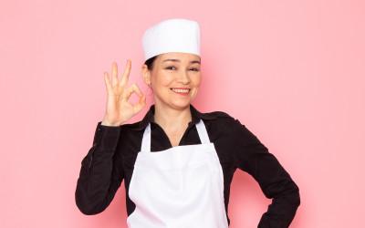 The biodegradable apron, kesako ?