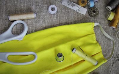 Comment fabriquer un masque de protection en tissu lavable et réutilisable ?