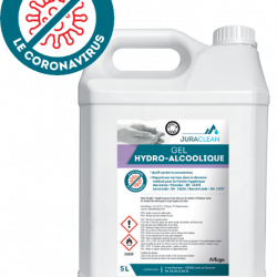 Hydroalcoholic gel 5L